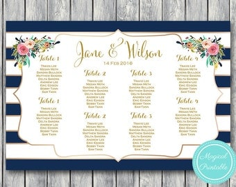 Find your Seat Chart, Printable Wedding Seating Chart, Wedding Seating Poster, Wedding Seating Sign, Wedding Seating Board WD70 dd WC107