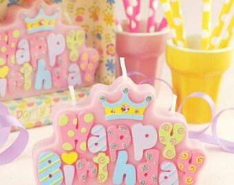 Happy Birthday Candle birthday party baby shower My 1st BIRTHDAY / Party Decor