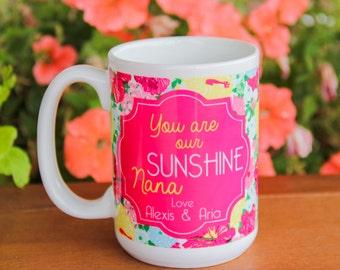 Personalized Mug for Nana - Birthday gift, Grandparent's Day, Just Because