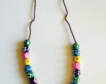 Go Hippie Flower Power Necklace