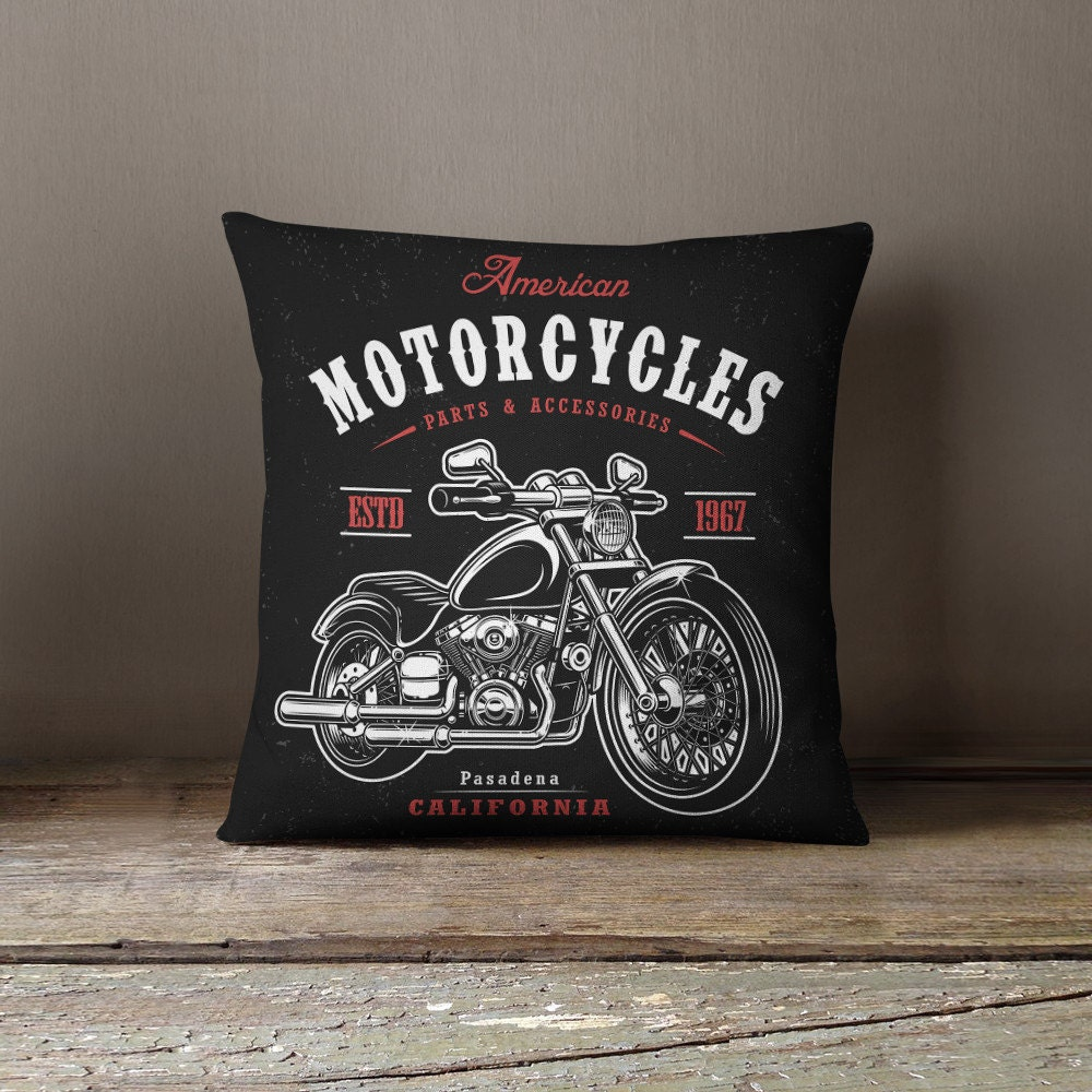 Motorcycle Home Decor : Best motorcycle decor metal easy rider american