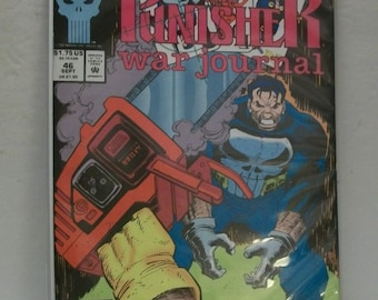 1992 The Punisher War Journal #46 Punisher Goes To Las Vegas VF-NM Unread  Marvel Comic Book