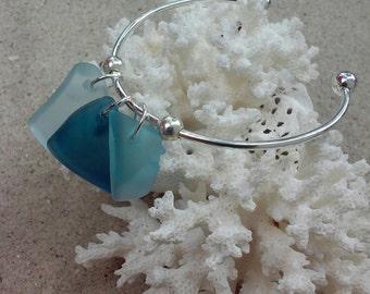 Sea Glass Add-On Charm Bracelet