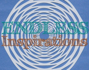 Endless Inspirations Original Stencil, 6x6 Inch, Tunnel Vision - Free US Shipping