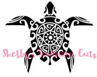 Aztec Turtle SVG file