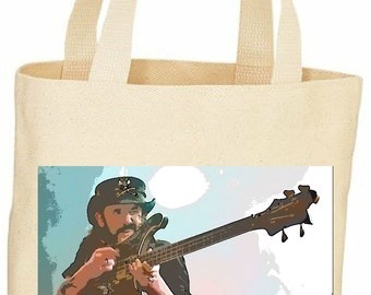 Custom Lemmy tote bag