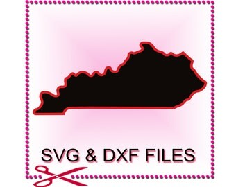 Kentucky SVG Files for Cutting State Cricut Designs - SVG Files for Silhouette - Instant Download