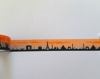Monuments of the World Washi Tape // Sample // Item #WT025