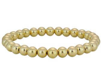 Gold Filled Beaded Bracelet