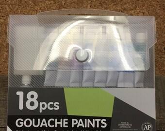 18 pc Gouache Paint Set