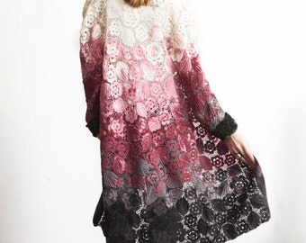 Irish lace coat