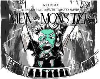 Men and Monsters Mini Zine