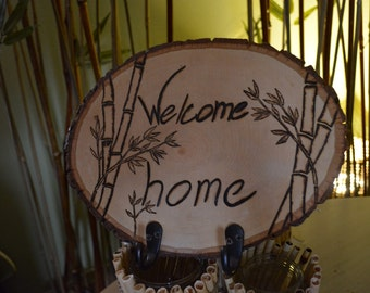 Welcome home - Key Hanger