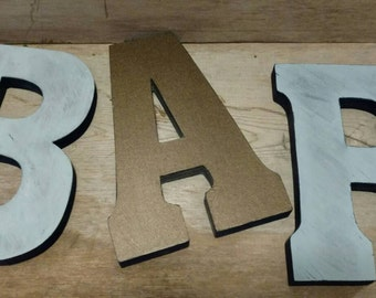 Wooden BAR Letters/ Bar Stand Alone Wood Letters/ Bar Sign/ Wedding Letters/ Bar Letter/ Wedding Bar Letters/ Wedding Decorations/ Bar Decor