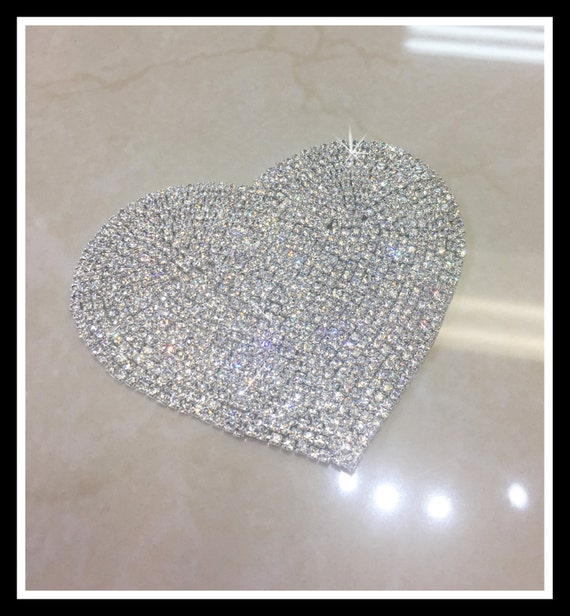 Rhinestone Hear Applique #0506
