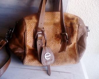 Leather shoulderbag vintage 90s,