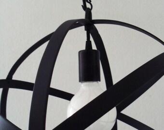Orb Chandelier Lighting