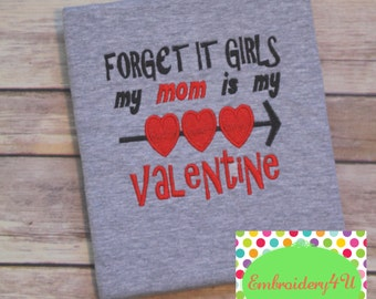 Embroidered Valentine Shirt, Boy Valentine Shirt, Girl Valentine Shirt, Heart, Valentine