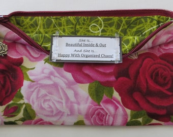 Persette #70 Personalized Zippered Organizing Pouch
