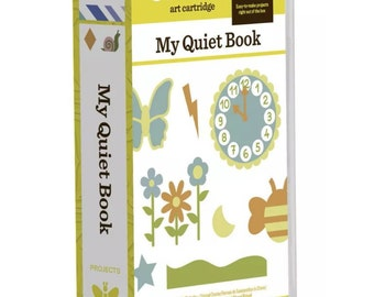 Cricut My Quiet Book Cartridge...LOOK!!! SALE!! Limited time