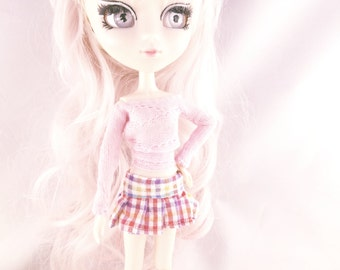 MORE COLORS Plaid Skirt