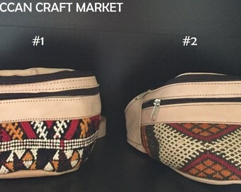 Moroccan Leather Fanny Pack