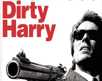 DIRTY HARRY Movie Poster Clint Eastwood RARE
