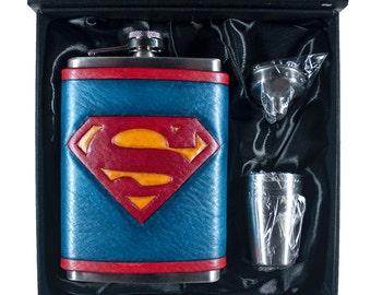 The Superest Geek Flask Set