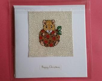 Woodland Creature Christmas Card