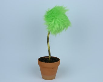 Lorax inspired Truffula Tree - GREEN