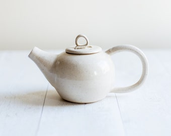 Speckle Stoneware Two Cup Teapot - Made to Order