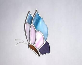 Butterfly Ornament Suncatcher Stained Glass Summertime