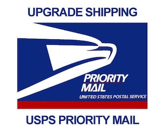 Upgrade shipping to Priority 1-3 day shipping.