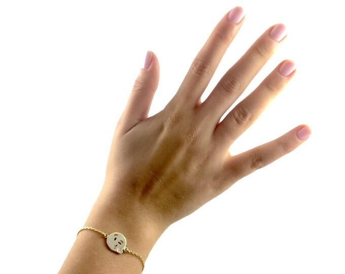 Emoji Bracelet-Kiss (Adjustable)
