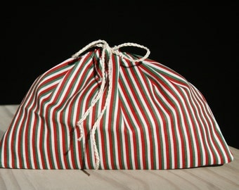 Cotton gift bags - stripped