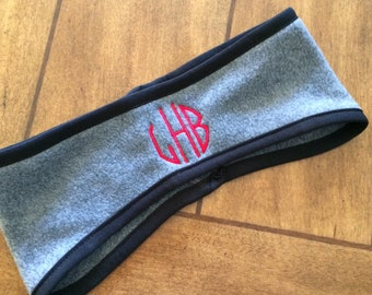 Fleece Headband Monogrammed
