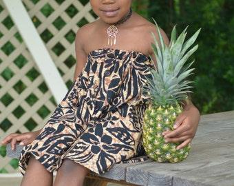 Strapless Toddler Sun Dress