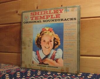 Vinyl Shirley Temple Etsy