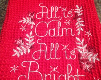All is bright kitchen towel