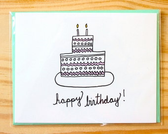 Happy Birthday!!! - set of 8 cards
