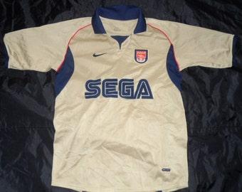 Classic Arsenal Sega Away Shirt - Mint/Never Worn - XLB