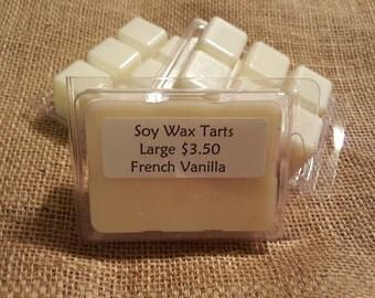 Soy wax tarts- French Vanilla