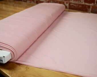 Soft Pink Bamboo Knit Fabric, beautiful soft & stretch for panties,  by the 1/2 meter