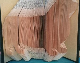 Corgi Book Folding Pattern (Digital Download PATTERN ONLY)