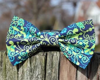 Dog bow tie, Dog bow - London Print