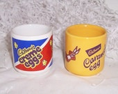Cadbury's Egg Cups - Creme Eggs and Cadbury's Caramel Bunny Egg Cup