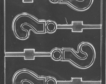 Big Question Mark Lolly Chocolate Mold