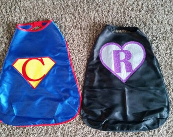 Personalized Super Hero Capes