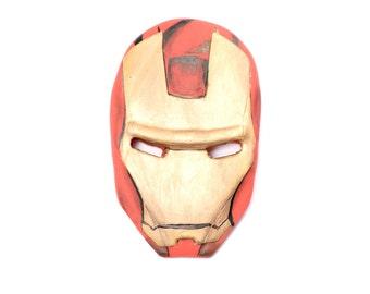 Fondant Iron Man Cake Topper - Avengers