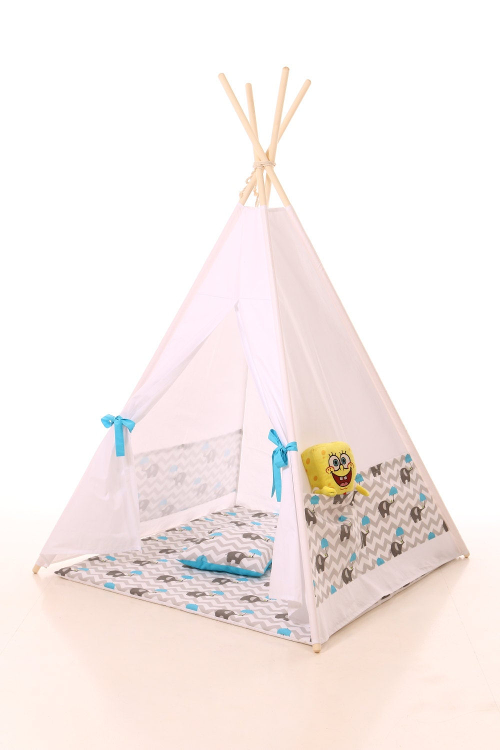 Kids Teepee Pillow Play Tent Wigwam Children 39 S Teepee